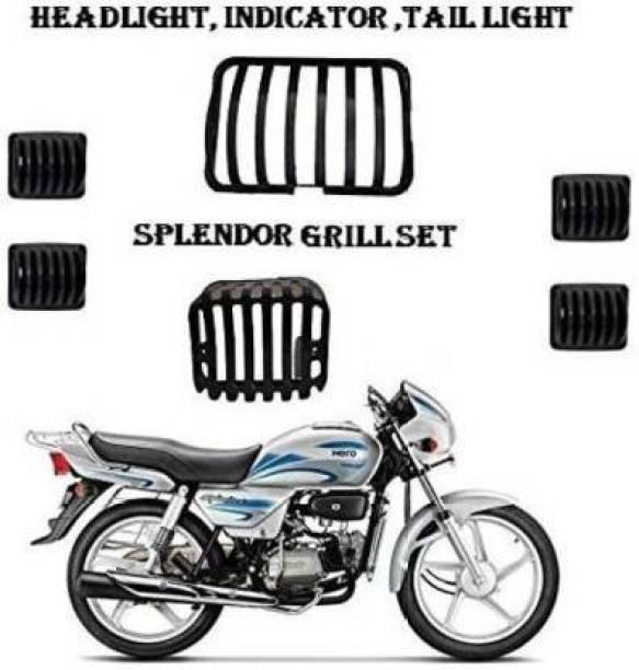 SBG SPLENDOR GRILL SET Bike Headlight Grill