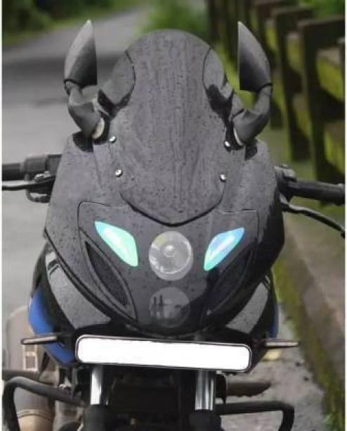 auto trends Pulsar 220 VISOR Bike Headlight Visor