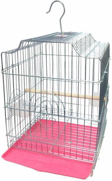 Venus Aqua Bird Cage Best for Love Bird, Parrot, Parakeet, Budgie, Cockatiel Cage Hammock 20 Inch Heavy Quality Steel Plated, Bird cage Bird House