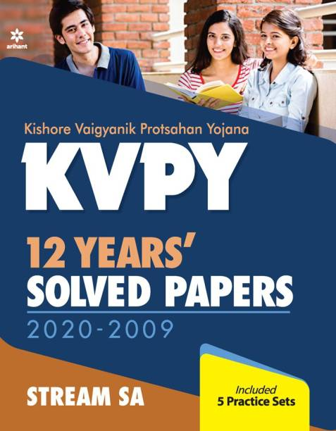 KVPY 12 Years Solved Papers 2020-2009 Stream SA