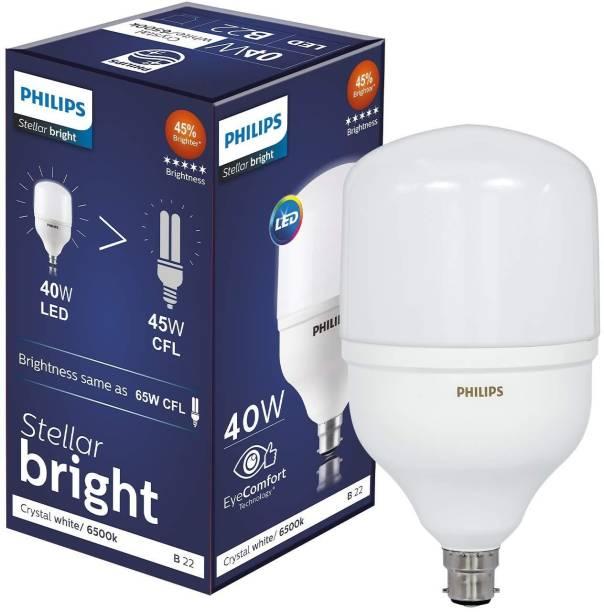 PHILIPS 40 W Round B22 LED Bulb