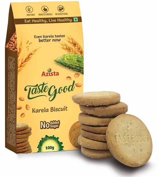 Azista Taste Good Karela Biscuit | No Added Sugar