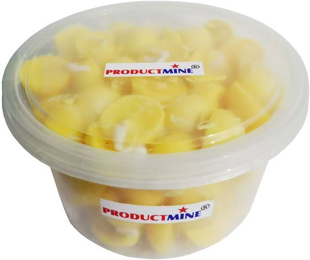 Productmine Pure Cow Ghee Diya (100 Diyas) Cotton Wick for Puja and Special Occasions Cotton Wick