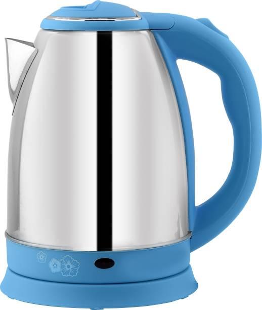 DEZEEN Oxygen Fast Boiling Tea Kettle Cordless, Stainless Steel Finish Hot Water Kettle – Tea Kettle, Tea Pot – Hot Water Heater Dispenser Beverage Maker