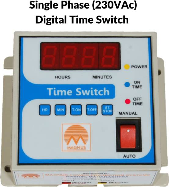 Magnus Digital time switch Programmable Electronic Timer Switch