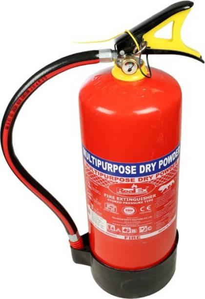 Solar Marketing Iron ABC Fire Extinguisher 6kg, Red Fire Extinguisher Mount
