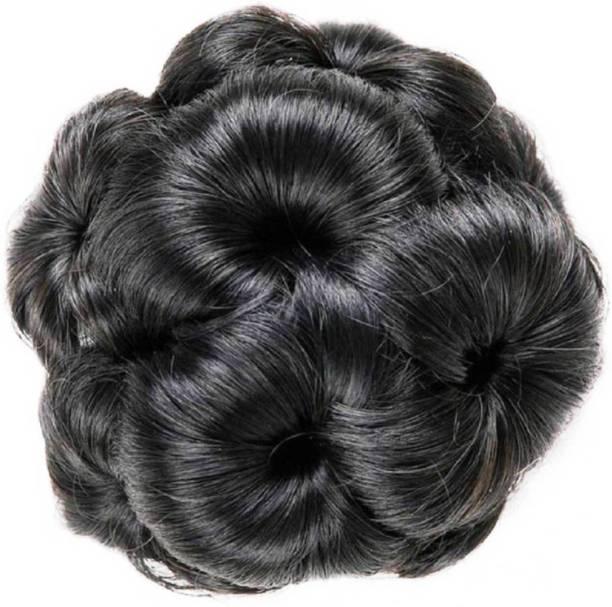 PEMA Dark black Clip Hair Extension