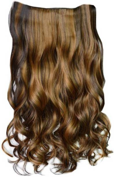 PEMA Golden Highlight Clip in Hair Extension