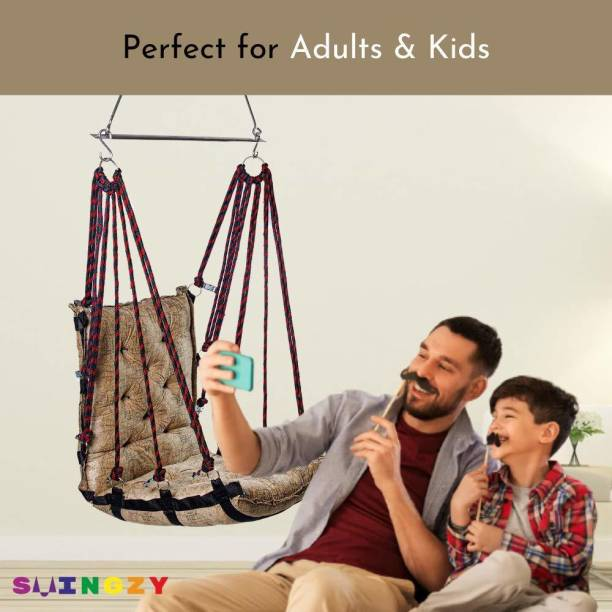 Swingzy Soft Velvet Premium Hanging Swing Cotton Small Swing