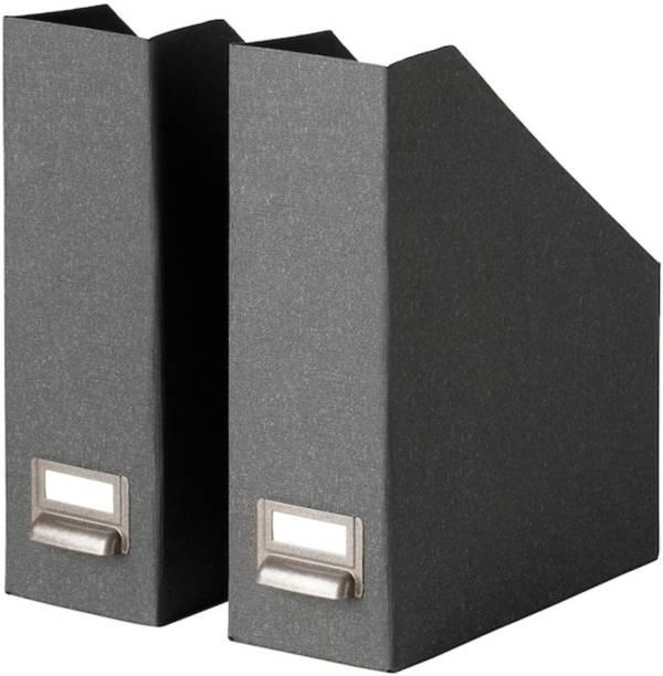 IKEA Magazine file, dark grey ( 704.776.59 ) Floor Standing Magazine Holder