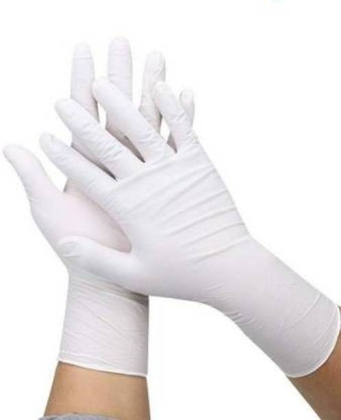 DM Eco Latex Exam Gloves Powdered at Dealer rate Latex Examination Gloves