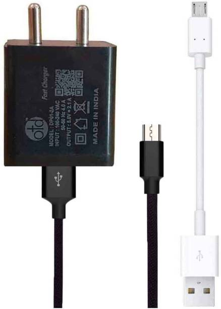 OTD Wall Charger Accessory Combo for Intex Cloud 4G Star, Intex Cloud Breeze, Intex Cloud C1, Intex Cloud Cube, Intex Cloud Fame, Intex Cloud Gem Plus, Intex Cloud Glory 4G, Intex Cloud M6