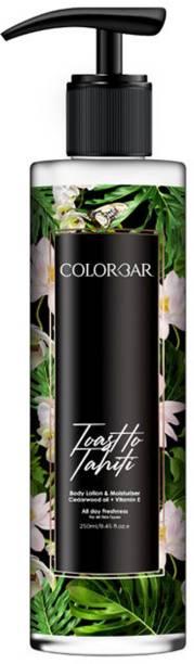 COLORBAR Toast to Tahiti body lotion & moisturiser All day moisturiser 250 ml