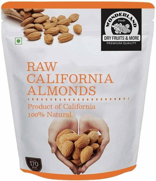WONDERLAND Dry Fruits California Raw Almonds, 900 g Almonds