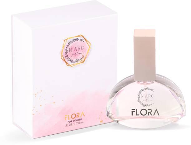 N'ARC perfumes FLORA, Made in India Eau de Parfum  -  50 ml