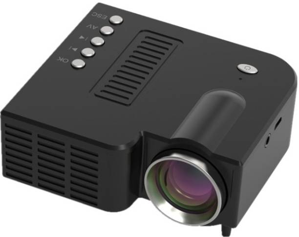 V.T.I 1200 lm LCD Corded Portable Projector