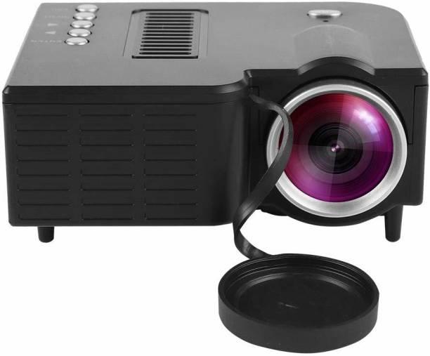 ProUNIC HD Mini LED Projector Home Theater Cinema HDMI/AV/VGA/USB/SD Portable 400 lm LED Cordless Portable Projector