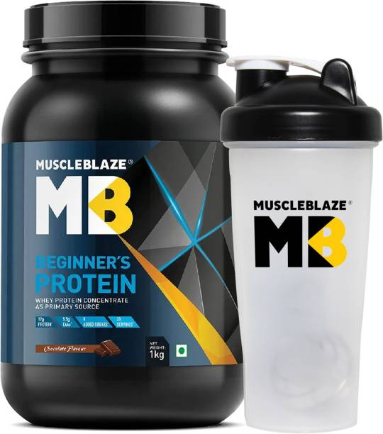 MUSCLEBLAZE Beginner's (with Shaker) Whey Protein
