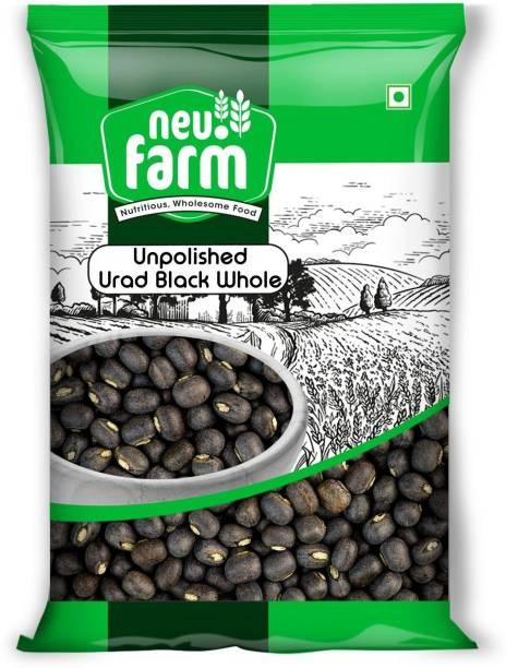Neu.Farm Urad Dal (Whole) (Unpolished Urad - Black (Whole) - 1 Kg)