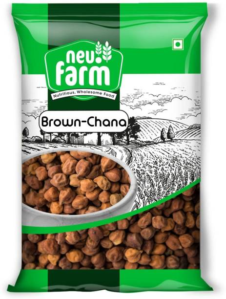 Neu.Farm Chana (Whole) (Desi Chana - Brown - 1 Kg)