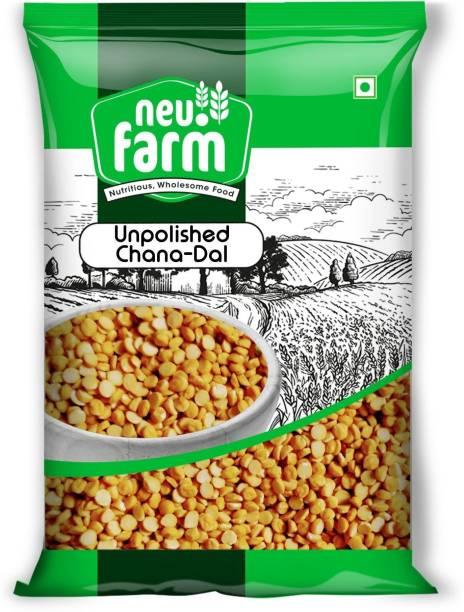 Neu.Farm Chana Dal (Whole) (Channa Dal Unpolished - 500 g)