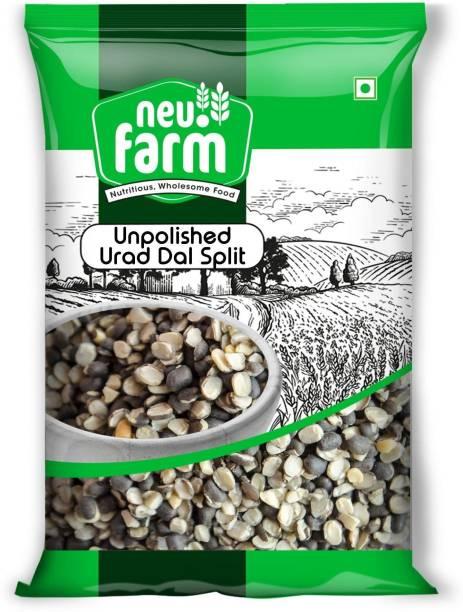 Neu.Farm Urad Dal (Split) (Unpolished Urad Dal/Split - 1 Kg)