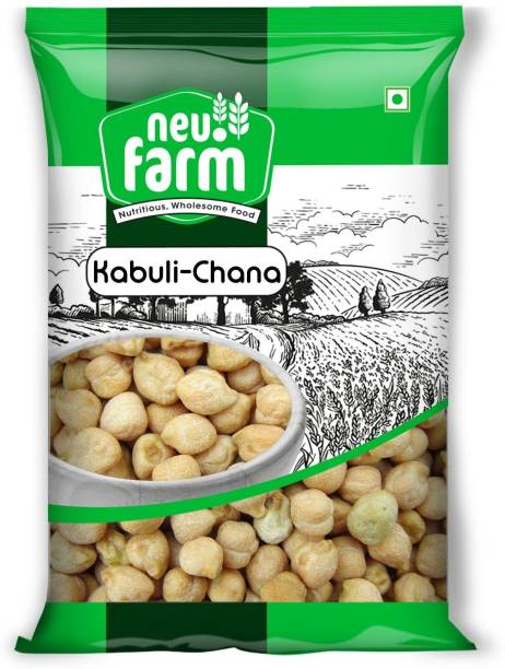 Neu.Farm Kabuli Chana (Whole) (Channa - Kabuli - 500 g)