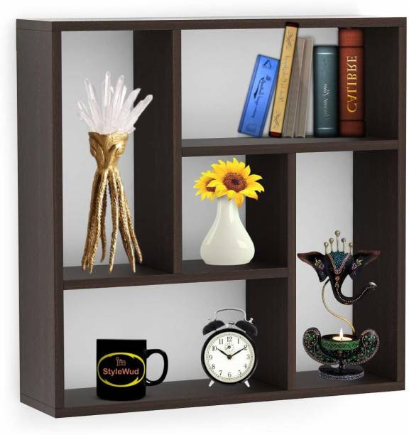 StyleWud Particle Board Wall Shelf