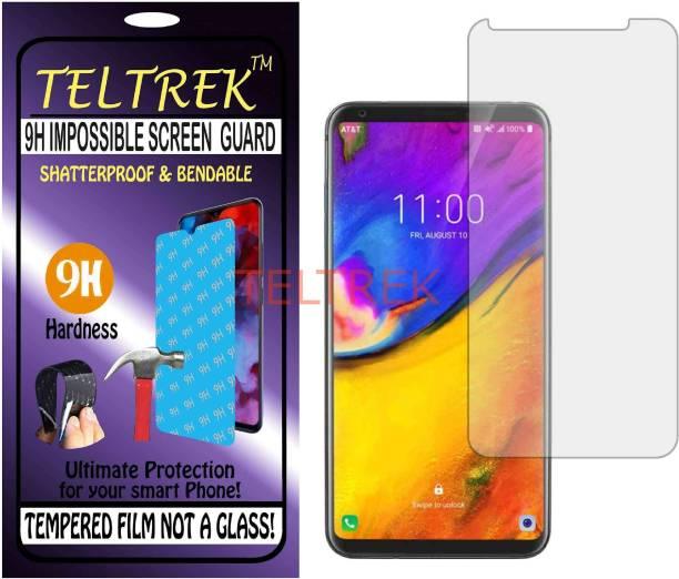 TELTREK Tempered Glass Guard for LG V35 PLUS THINQ (Flexible, Unbreakable)