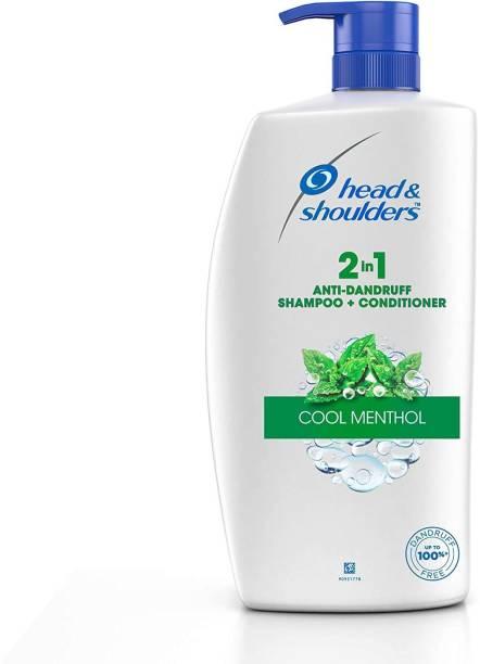HEAD & SHOULDERS 2-in-1 Cool Menthol Anti Dandruff Shampoo and Conditioner Shampoo