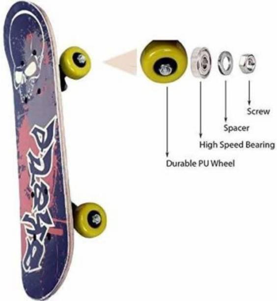 S.V.Enterprises Skateboard 26 inch x 6 inch Skateboard 6 inch x 26 inch Skateboard