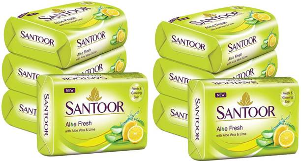 santoor SOAP Aloe Fresh With Lime & Aloe Vera