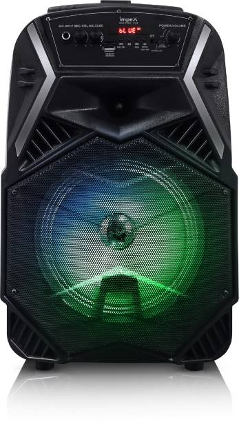 IMPEX Party Speaker with Trolley 25 W Bluetooth Home Theatre