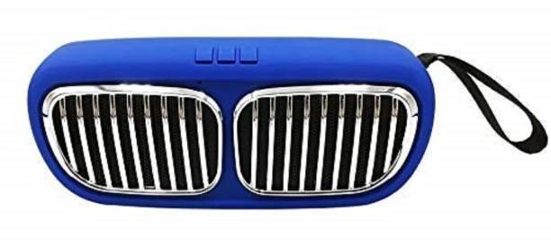 Creative Dizayn Mini BMW Super Bass Splash-Proof Bluetooth Speaker-BLUE 6 W Bluetooth Speaker