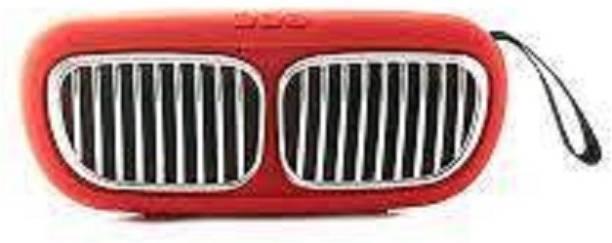 Creative Dizayn Mini BMW Super Bass Splash-Proof Bluetooth Speaker-RED 6 W Bluetooth Speaker