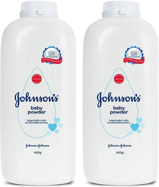 JOHNSON'S Original Baby Powder Combo