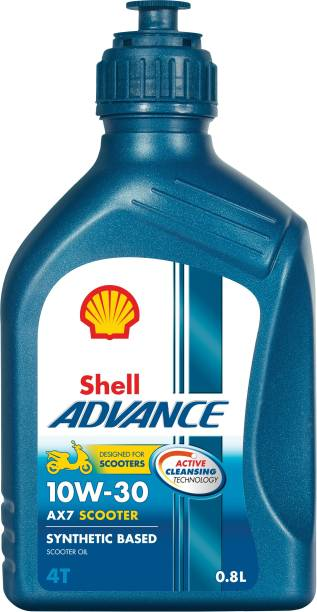 Shell Advance AX7 Matic 10W-30 Synthetic Blend Engine Oil