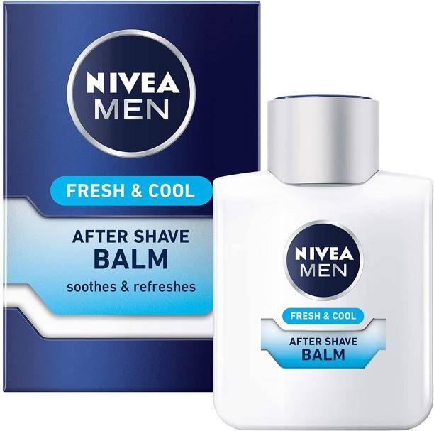 NIVEA MEN Fresh & Cool Imported After Shave Balm, Mint Extracts.(Made In Germany)