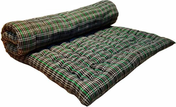 Anand Textile 3X6 SINGLE BED 4 inch Single Cotton Mattress