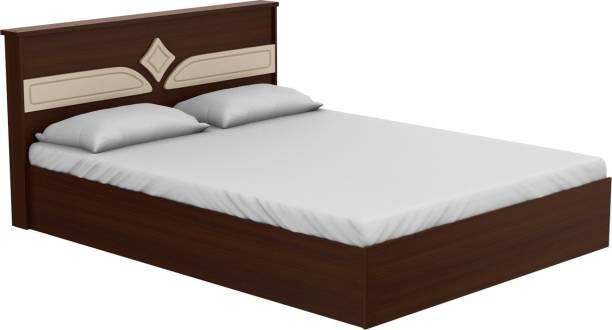 Godrej Interio Astra Engineered Wood Queen Drawer Bed