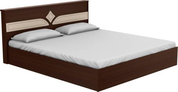 Godrej Interio Astra Engineered Wood King Drawer Bed