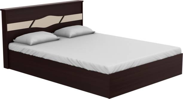 Godrej Interio Arcadia Engineered Wood Queen Hydraulic Bed