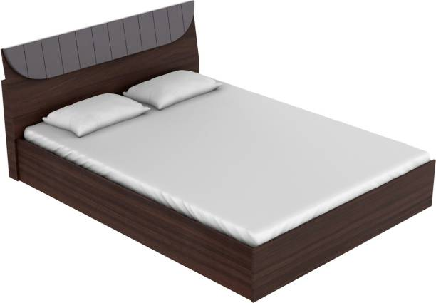 Godrej Interio Highlands Engineered Wood King Hydraulic Bed