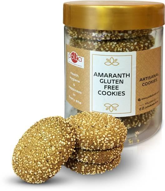 Polka Amaranth Gluten Free Cookies Biscuit