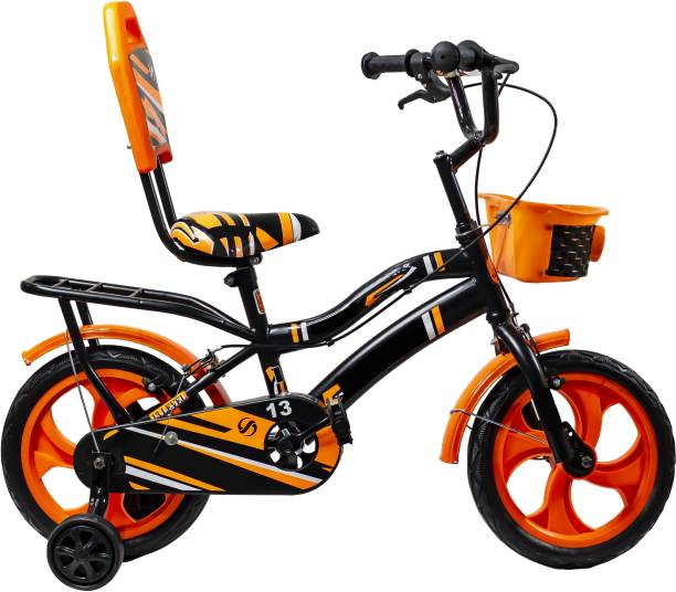 PawkyKids Kids Bicycles For 2 Years to 5 Years Semi Assembled 14 T BMX Cycle
