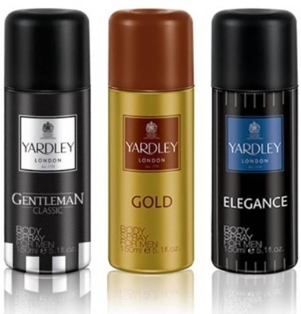Yardley London Gentleman+Elegance+Gold Deodorant Spray  -  For Men