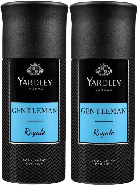 Yardley London Two ROYALE Deodorant Spray  -  For Men