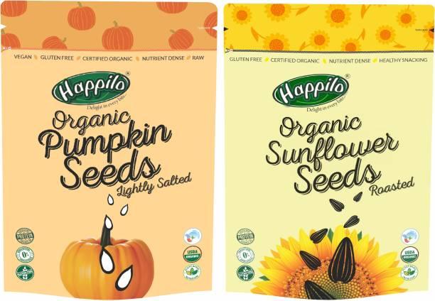 Happilo Pumpkin Seeds, Sunflower Seeds