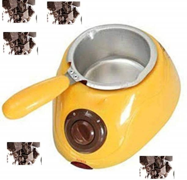 BEGMY Chocolatiere Electric Chocolate Maker Melting Pot Round Electric Pan