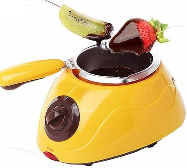 sweetboy Electric Chocolate Melting Pot with molds and Accessories. Round Electric Pan
